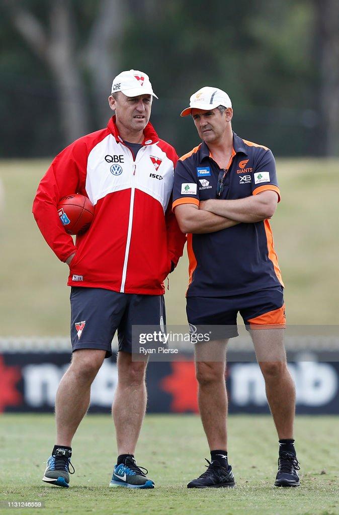 AUS: Sydney Swans v GWS Practice Match