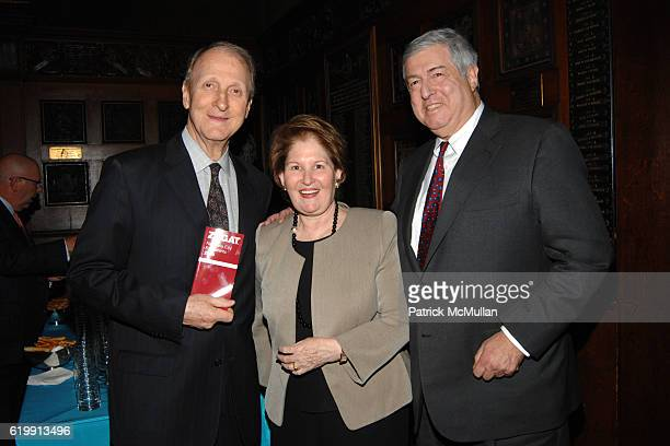John Loring Nina Zabat and Tim Zagat attend TIFFANY Co Celebrate the Publication of 'Tiffany Style' by John Loring at Park Avenue Armory on October...