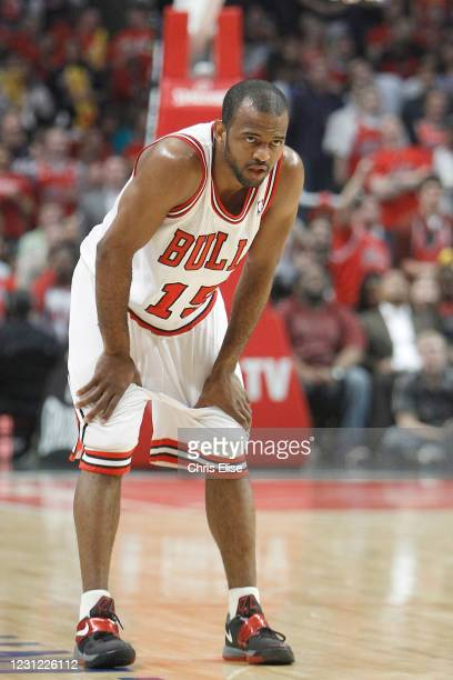 John Lucas III of the Chicago Bulls looks on during the game against the Miami Heat on March 14, 2012 at the United Center, Chicago, Illinois, USA....