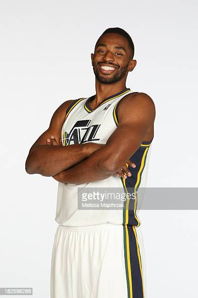John Lucas III of the Utah Jazz poses for a photo during 2013 Media Day at Zions Basketball Center on September 30, 2013 in Salt Lake City, Utah....