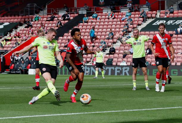 GBR: Southampton FC v Sheffield United - Premier League
