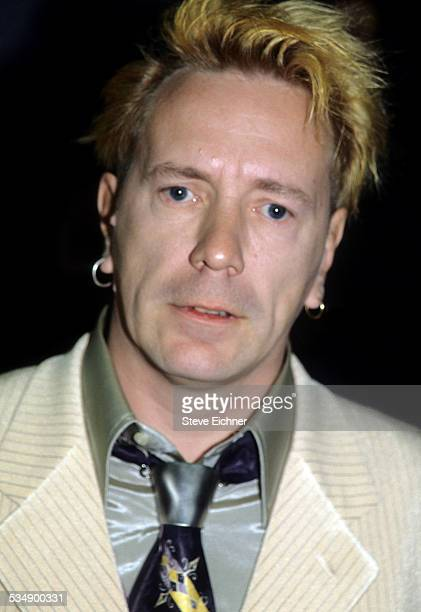 John Lydon aka Johnny Rotten of The Sex Pistols and Public Image Limited PIL at VH1 Vogue Fashion Awards New York October 23 1998