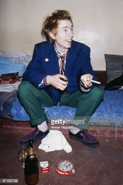 John Lydon aka Johnny Rotten singer with new wave group Public Image Limited circa 1978