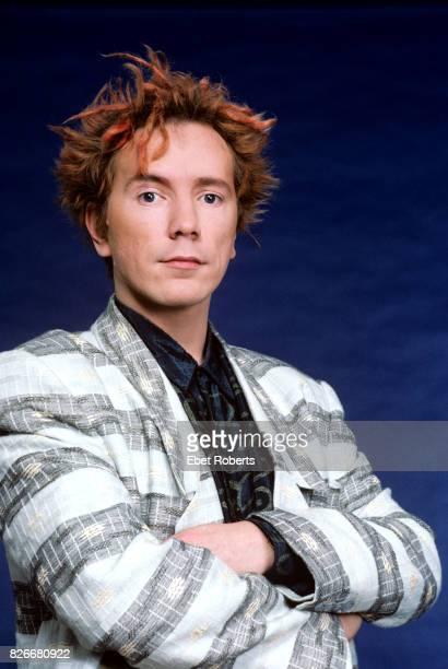 John Lydon of Public Image Ltd in New York City on March 25 1986