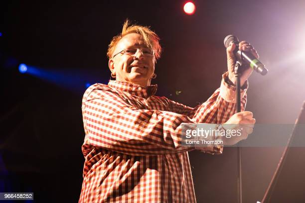 John Lydon of Public Image LTD performs at the Electric Ballroom as part of Camden Rocks on June 2 2018 in London England