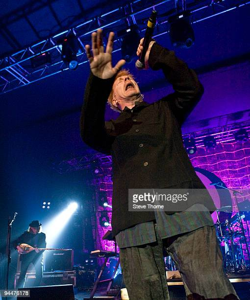 John Lydon of Public Image Ltd performs on stage at O2 Academy on December 15 2009 in Birmingham England