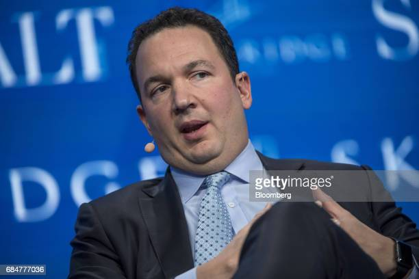 John Lykouretzos founder and chief investment officer at Hoplite Capital Management LLC speaks at the Skybridge Alternatives conference in Las Vegas...