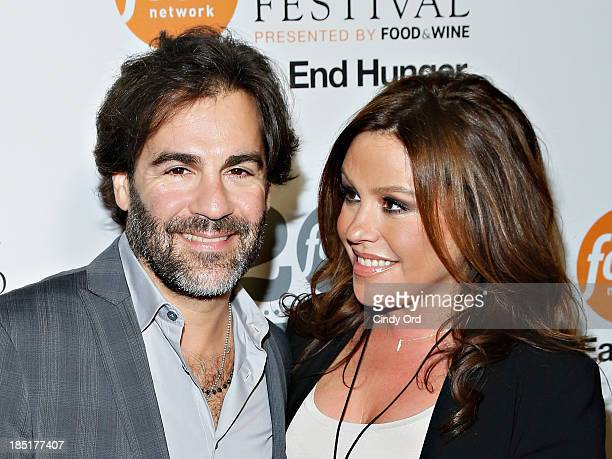 John M Cusimano and Rachael Ray attend Food Networks 20th birthday celebration at Pier 92 on October 17 2013 in New York City