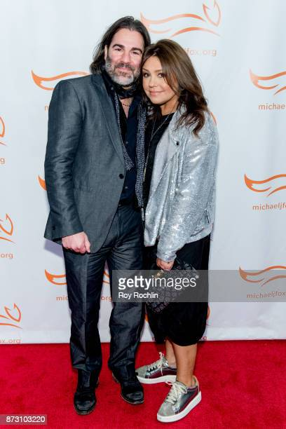 John M. Cusimano and Rachael Ray attend the 2017 a funny thing happened on the way to cure Parkinson's benefitting The Michael J. Fox Foundation at...
