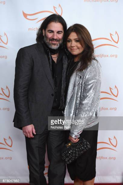 John M Cusimano and Rachael Ray on the red carpet of A Funny Thing Happened On The Way To Cure Parkinson's benefitting The Michael J Fox Foundation...
