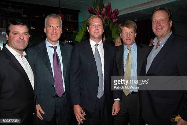 John MacGillivray David Conrod Topper Mortimer Bill Landis and Greg Darin attend BLACKBERRY ELLE AND DIANE VON FURSTENBERG host launch party for NINA...