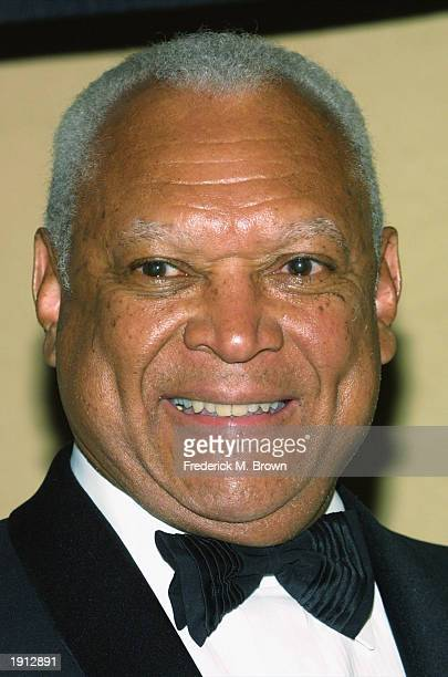 John Mack attends the Los Angeles Urban League's 30th anniversary benefit gala at the Century Plaza Hotel on April 10 2003 in Century City California...