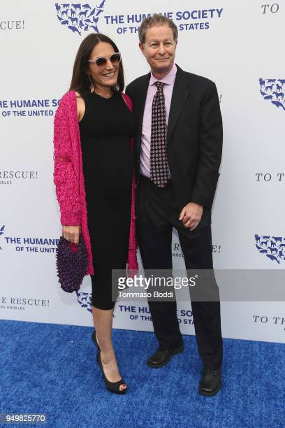 John Mackey and guest attend The Humane Society Of The United States' To The Rescue Los Angeles Gala at Paramount Studios on April 21 2018 in Los...