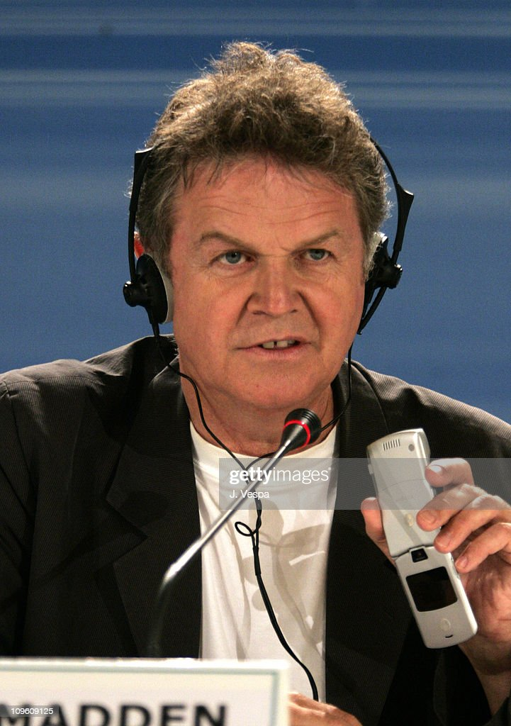 John Madden, director during 2005 Venice Film Festival - 'Proof' Press Conference at Casino Palace in Venice Lido, Italy.