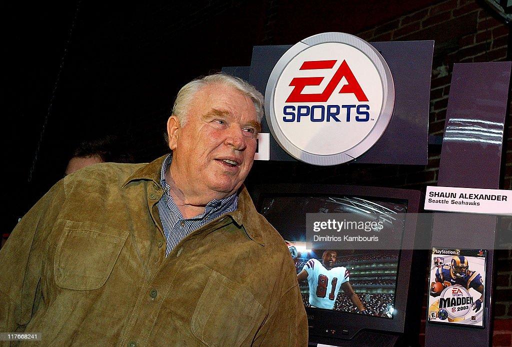Super Bowl XXXVII - EA Sports Ninth Annual Football Videogame Tournament