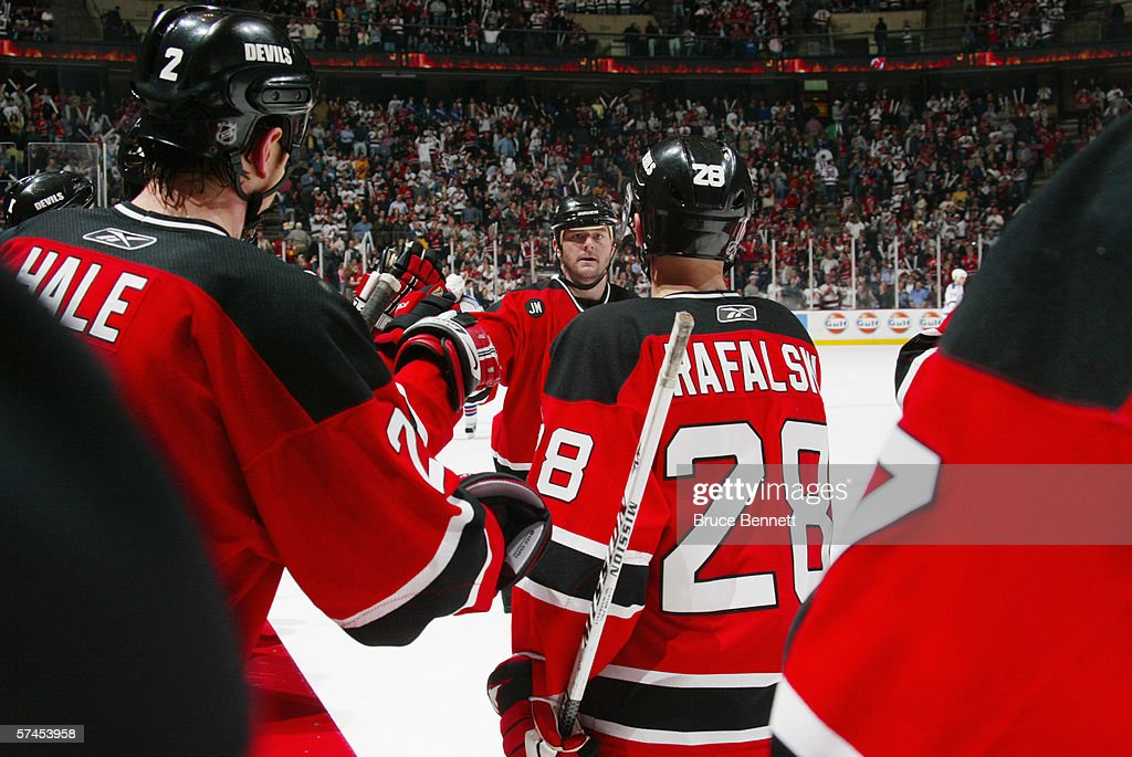 best cheap 3b1d4 61ce9 John Madden of the New Jersey Devils celebrates with ...