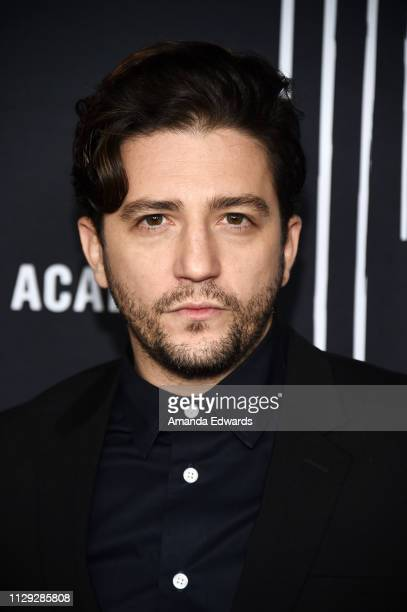 John Magaro arrives at the premiere of Netflix's The Umbrella Academy at the ArcLight Hollywood on February 12 2019 in Hollywood California