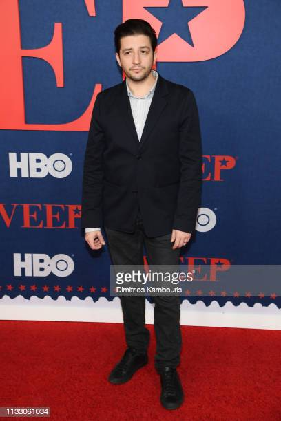 John Magaro attends the Veep Season 7 premiere at Alice Tully Hall Lincoln Center on March 26 2019 in New York City