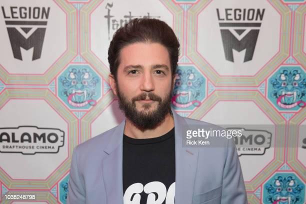John Magaro attends the World Premiere of 'Overlord' during the 2018 Fantastic Fest Film Festival on September 22 2018 in Austin Texas