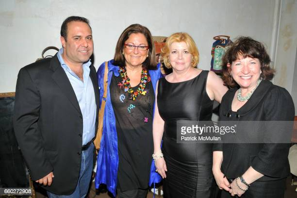 John Mahdessian Fern Mallis Faith Hope Consolo and Linda Alexander attend NEW YORK CITY's OPERA DIVAS Shop for Opera at 717 Madison Ave on June 24...