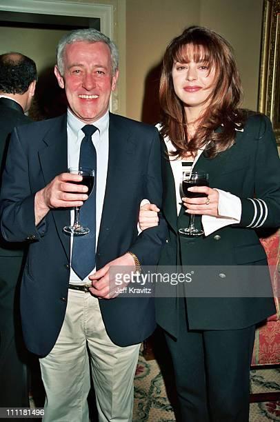 John Mahoney and Jane Leeves during 1994 NBC TCA in Pasadena California United States
