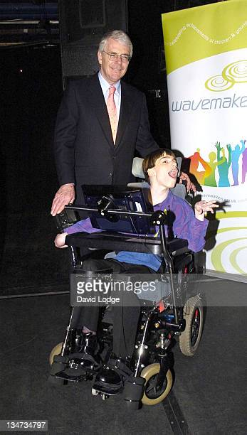 John Major and Alan Sinton during The Wavemaker Awards Photocall in London Great Britain