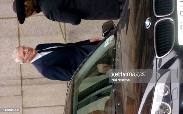 John Major during Pope John Paul II Remembrance Service at Westminster Cathedral Arrivals at Westminster Cathedral in London Great Britain