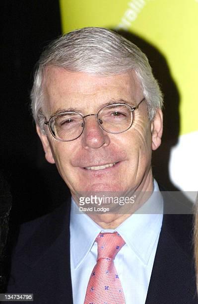 John Major during The Wavemaker Awards Photocall in London Great Britain