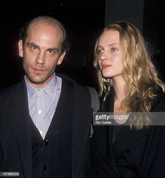 John Malkovich and Uma Thurman during 'Dangerous Liaisons' New York City Premiere at Museum of Modern Art in New York City New York United States