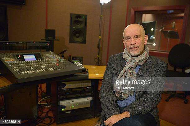 John Malkovich at a voice over recording session for Call of Duty Advanced Warfares 'Exo Zombies' mode part of the Havoc DLC pack on December 15 2014...