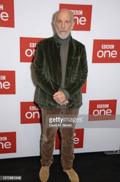 John Malkovich attends a special screening of new BBC One drama The ABC Murders at the BFI Southbank on December 13 2018 in London England