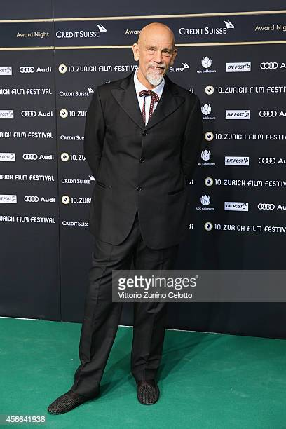 John Malkovich attends the Award Night Green Carpet Arrivals during Day 10 of Zurich Film Festival 2014 on October 4 2014 in Zurich Switzerland