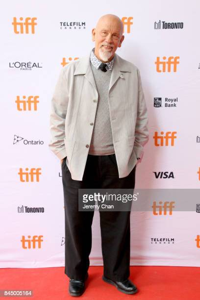 John Malkovich attends the 'I Love You Daddy' premiere during the 2017 Toronto International Film Festival at Ryerson Theatre on September 9 2017 in...