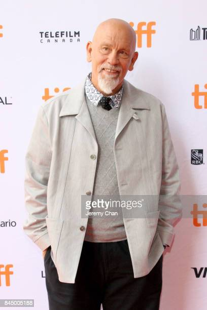 """John Malkovich attends the """"I Love You Daddy"""" premiere during the 2017 Toronto International Film Festival at Ryerson Theatre on September 9, 2017 in..."""