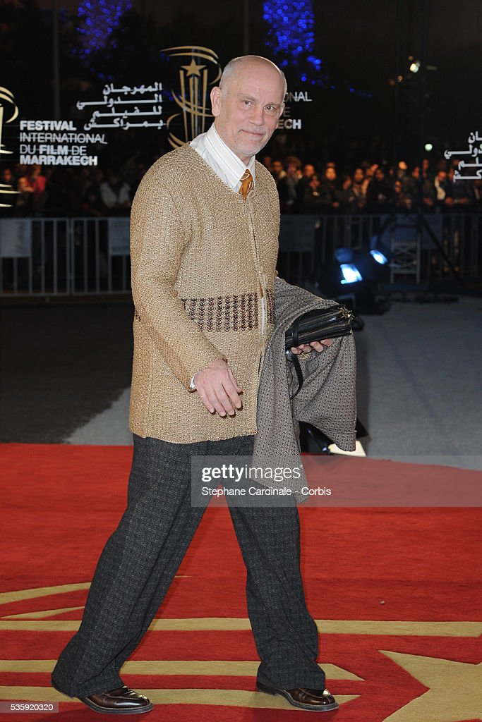 John Malkovich attends the Tribute to French Cinema during the Marrakech 10th Film Festival.