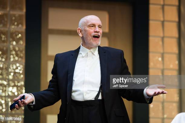John Malkovich during the Bitter Wheat by David Mamet photocall on June 13 2019 in London United Kingdom