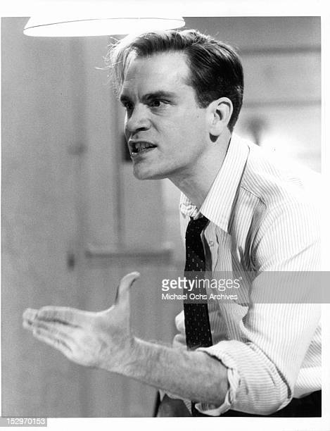 John Malkovich starring in a scene from the TV movie 'Death Of A Salesman' 1985