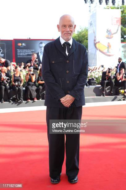John Malkovich walks the red carpet ahead of The New Pope screening during the 76th Venice Film Festival at Sala Grande on September 01 2019 in...