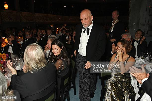 John Malkovich, winner of the Milton Shulman award for Best Director, attends the 62nd London Evening Standard Theatre Awards, recognising excellence...
