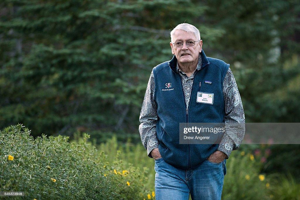 Annual Allen And Co. Investors Meeting Draws CEO's And Business Leaders To Sun Valley, Idaho : Fotografía de noticias
