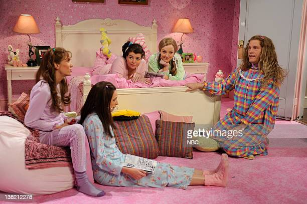 LIVE John Malovich Episode 1541 airdate Pictured Kristen Wiig as Prudence Casey Wilson as Mudge Gorstein John Malkovich during the 'The Lost Works of...