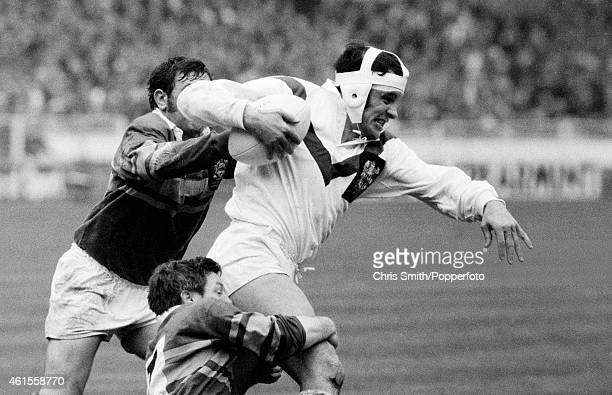 John Mantle carries the ball for St Helens during the Rugby League Challenge Cup Final between St Helens and Leeds at Wembley Stadium in London 13th...