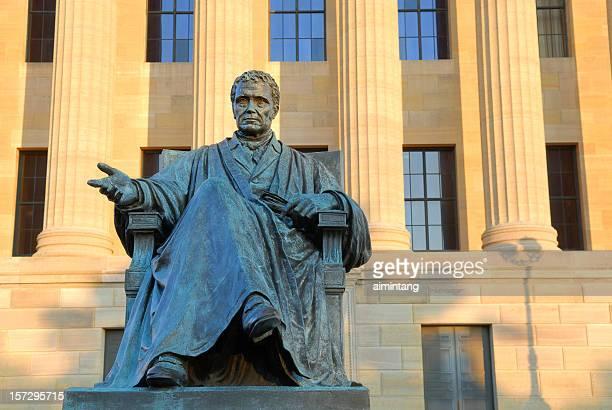 John Marshall-Statue im Museum of Art in Philadelphia.