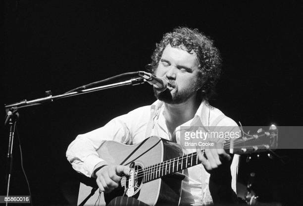 John Martyn performing at 'Over The Rainbow', a concert marking the first closure of The Rainbow Theatre, Finsbury Park, North London on March 16 1975