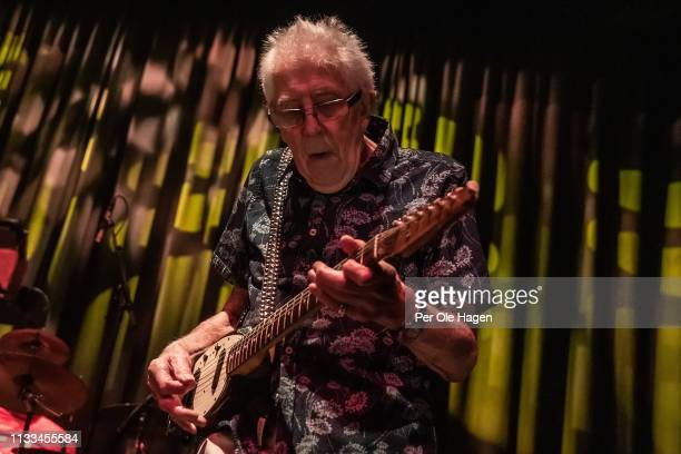 John Mayall performs at Rockefeller on March 3 2019 in Oslo Norway