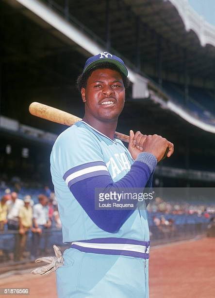 John Mayberry of the Kansas City Royals poses for a portrait circa 19721977