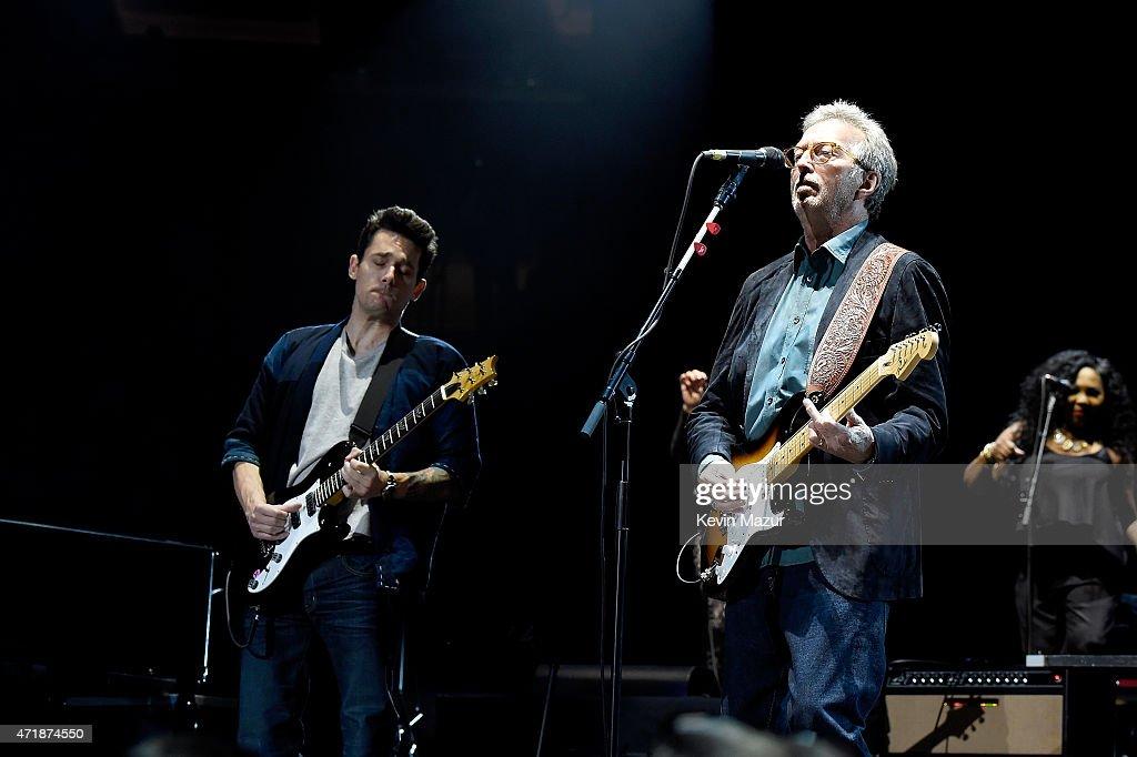 Eric Clapton's 70th Birthday Concert Celebration : News Photo