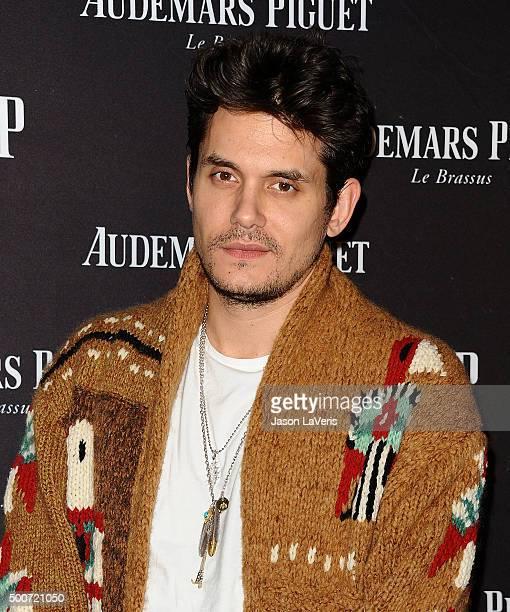 John Mayer attends the opening of Audemars Piguet on December 9 2015 in Beverly Hills California