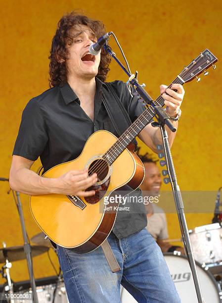 John Mayer during 38th Annual New Orleans Jazz & Heritage Festival Presented by Shell - John Mayer at New Orleans Fair Grounds in New Orleans,...