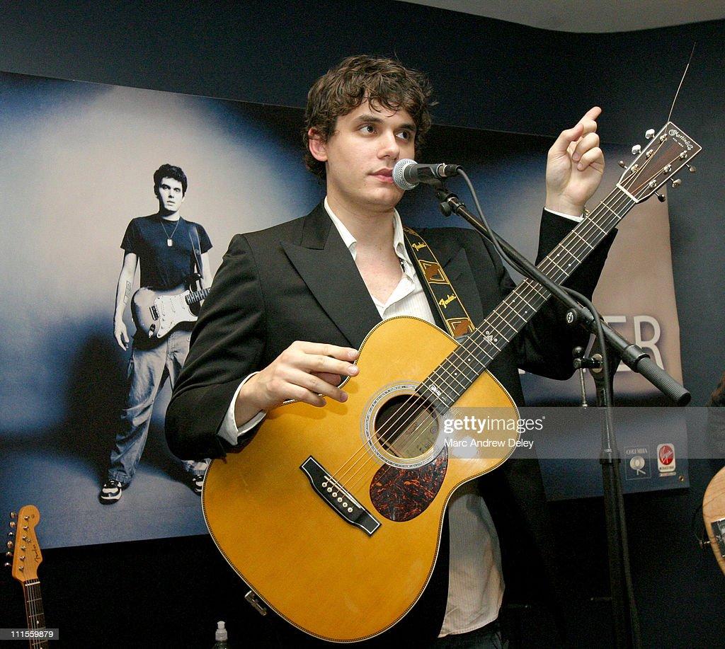 John Mayer Virginity